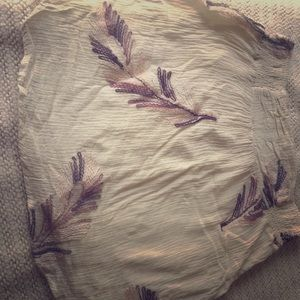Romy Boho Knit Flower Skirt